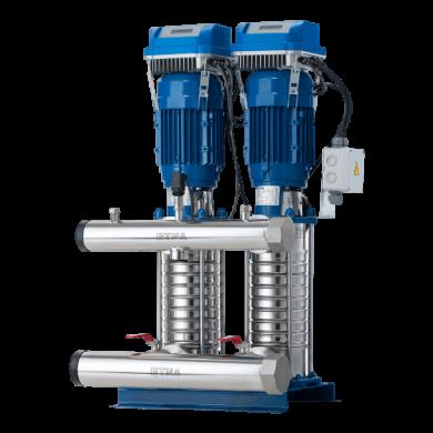 Hydrokon Sürücülü Komple Paslanmaz Çelik HF KO-ST Hidrofor Serisi