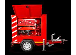 Hızır Mobil Yangın Söndürme ve Su Baskını Boşaltma Pompası