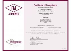 FM Onay Sertifikası